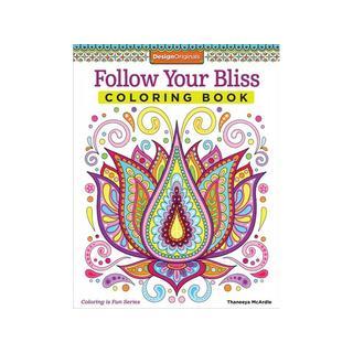 Design Originals Follow Your Bliss Coloring Book