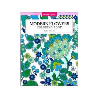 Design Originals Modern Flowers Coloring Book