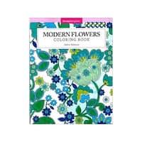 Design Originals Modern Flowers Coloring Book