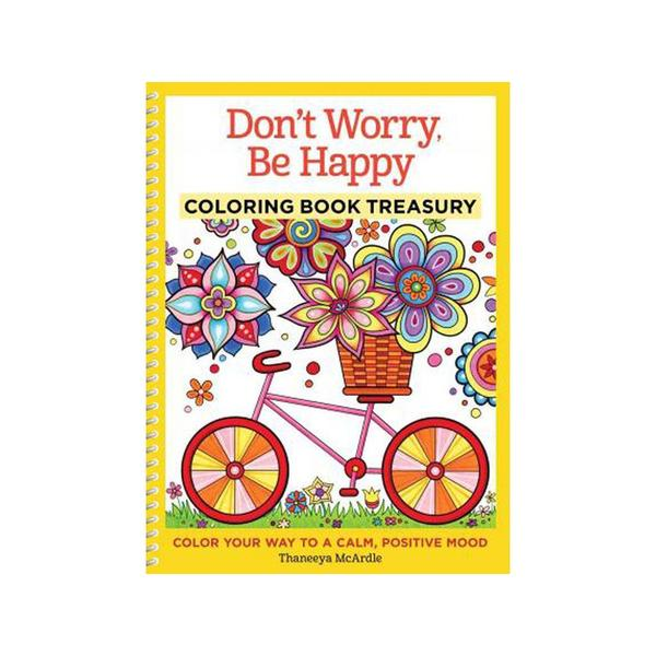 Design Originals Donx27t Worry Be Happy Coloring Book