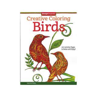 Design Originals Birds Coloring Book