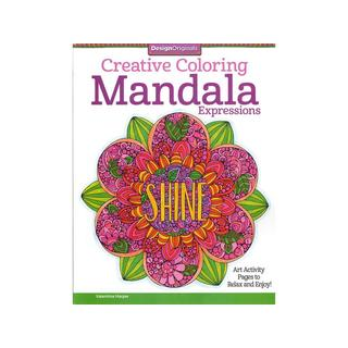 Design Originals Mandala Expressions Coloring Book