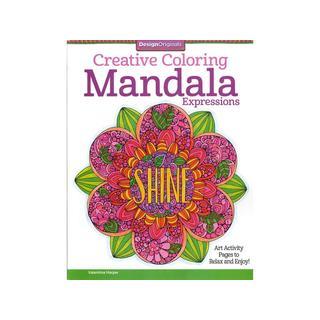 Design Originals Mandala Expressions Coloring Book