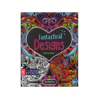 FunStitch Studio Fantastical Design Coloring Book