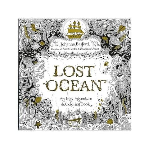 Penguin Books Lost Ocean Coloring Book