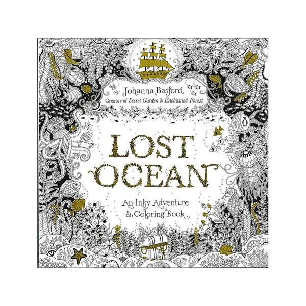 Penguin Books Lost Ocean Coloring Book