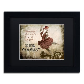 Color Bakery 'Join The Circus' Matted Framed Art