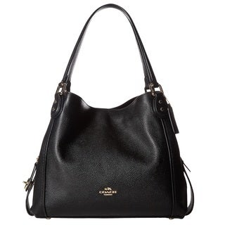 Black, Leather Shoulder Bags - Shop The Best Brands - Overstock.com