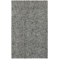 Style Haven Areia Boucle Blue/Grey Wool Handcrafted Area Rug - 10' x 13'
