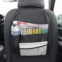Car Backseat Storage Organizer Multi Pocket 5 Accessories Travel Bag By Stalwart