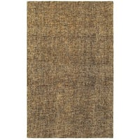 Style Haven Areia Boucle Brown/Beige Wool Handcrafted Area Rug - 10' x 13'