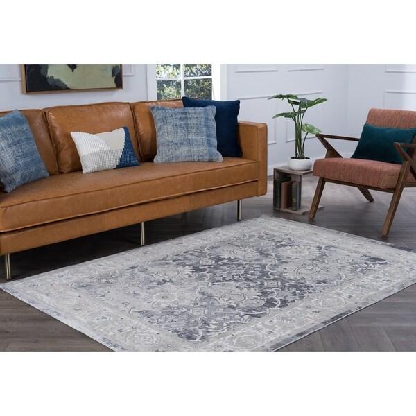Alise Rugs Essence Traditional Oriental Area Rug - 7'6 x 10'3