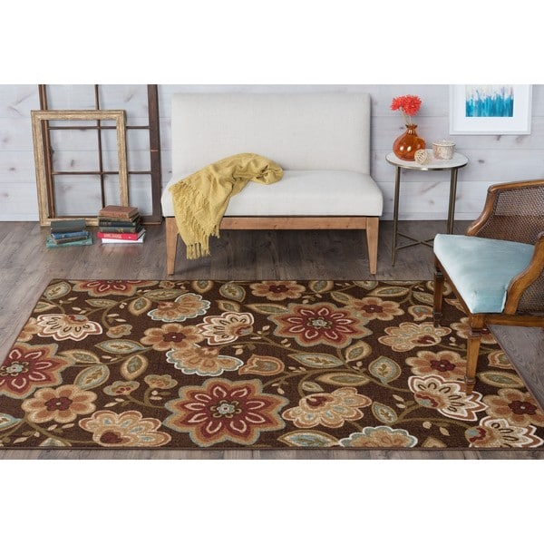 Alise Rugs Majolica Transitional Area Rug (7'6 x 9'10)