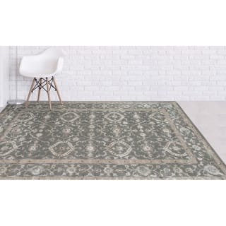 Contessa Blue Gold Rug 6 7 X 9 2 Free Shipping Today