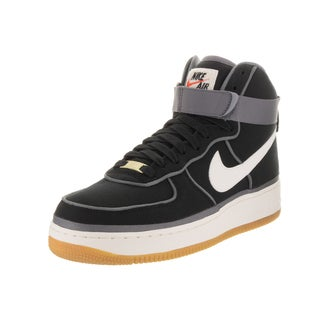 Nike Men's Air Force 1 High '07 Level 8 Black and White Basketball Shoes