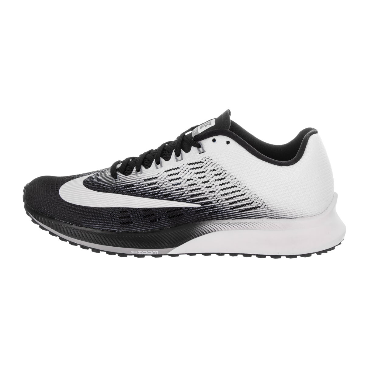 the best attitude 7a050 0d1d4 Shop Nike Womens Air Zoom Elite 9 BlackWhiteGrey Breathable Running Shoe  - Free Shipping Today - Overstock.com - 14823108 - 5