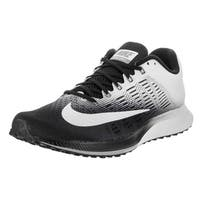 Nike Women's Air Zoom Elite 9 Black/White/Grey Breathable Running Shoe