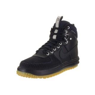 Nike Men's Lunar Force 1 Duckboot Dark Obsidian Leather Boots