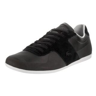 Lacoste Men's Turnier Black Leather Casual Shoe