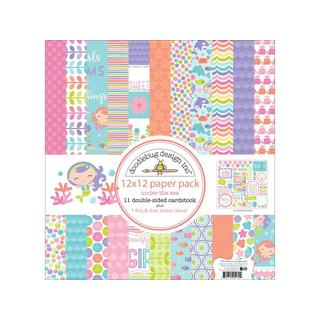 Doodlebug Under The Sea Paper Pack 12x12