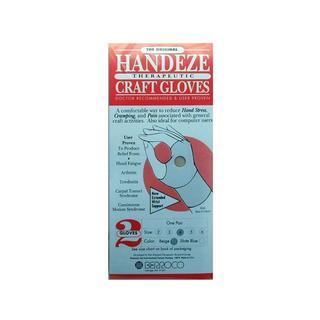 Berroco Handeze Glove Beige Pair Size 4
