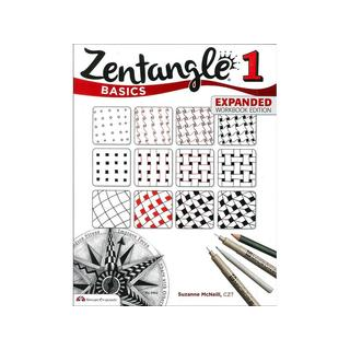 Design Originals Zentangle 1 Basics Expanded Ed Bk