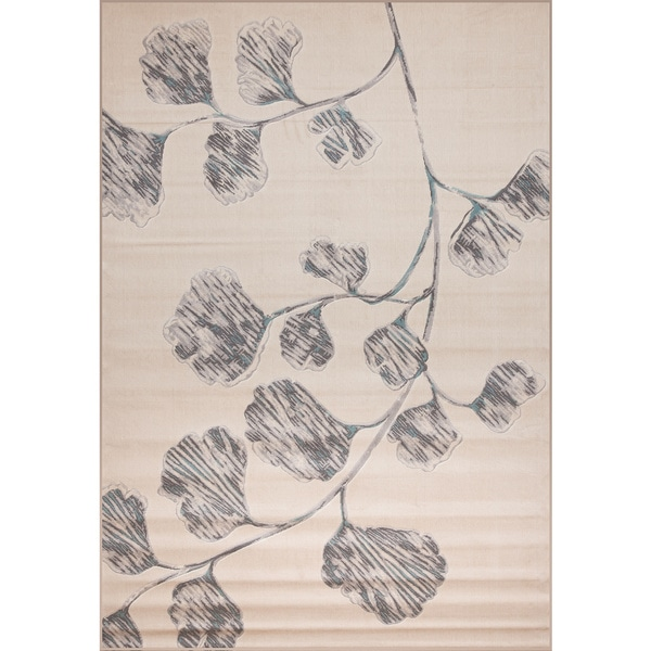 Abacasa Domino Teal Area Rug Reviews: Shop Holly Ivory/Grey/Lt. Grey/Teal Area Rug By Greyson