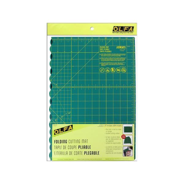 Shop Olfa Folding Cutting Mat 17 Quot X 24 Quot Free Shipping