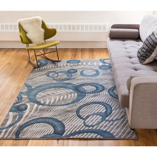 Well Woven Gale Modern Geometric Area Rug - 7'10 x 9'10