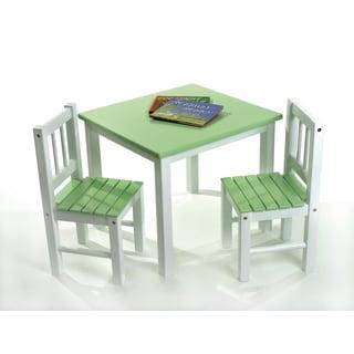 Lipper Children's Green Chair Set