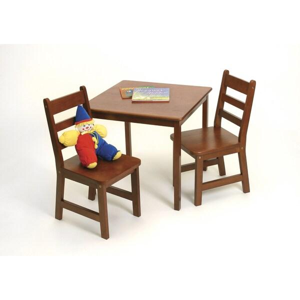Lipper Children's Cherry Chair Set