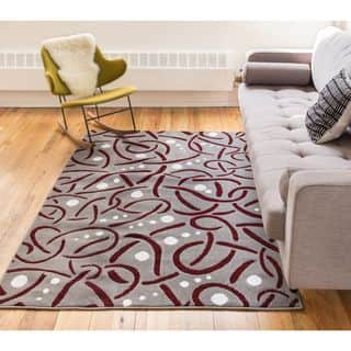 Well Woven Salida Red Modern Abstract Area Rug (9'3 x 12'6 )|https://ak1.ostkcdn.com/images/products/14823503/P21340115.jpg?impolicy=medium