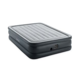 Intex Essential Rest Raised Air Bed, Queen, Gray|https://ak1.ostkcdn.com/images/products/14823556/P21340093.jpg?impolicy=medium