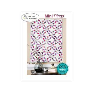 Sew Kind Of Wonderful QCR Mini Rings Ptrn