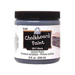 Plaid Folkart Chalkboard Paint 8oz Blk