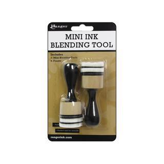 Ranger Tool Ink Blending Handle & Foam Round