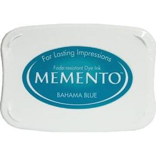Tsukineko Memento Bahama Blue Ink Pad