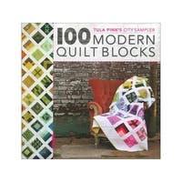 David&Charles Tula Pink's City Sampler 100 ModrnBk