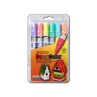 Uchida DecoColor Broad Point Set 6pc|https://ak1.ostkcdn.com/images/products/14824493/P21341374.jpg?impolicy=medium