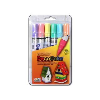 Uchida DecoColor Broad Point Set 6pc