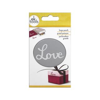 EK Paper Shapers Punch Double Love Word