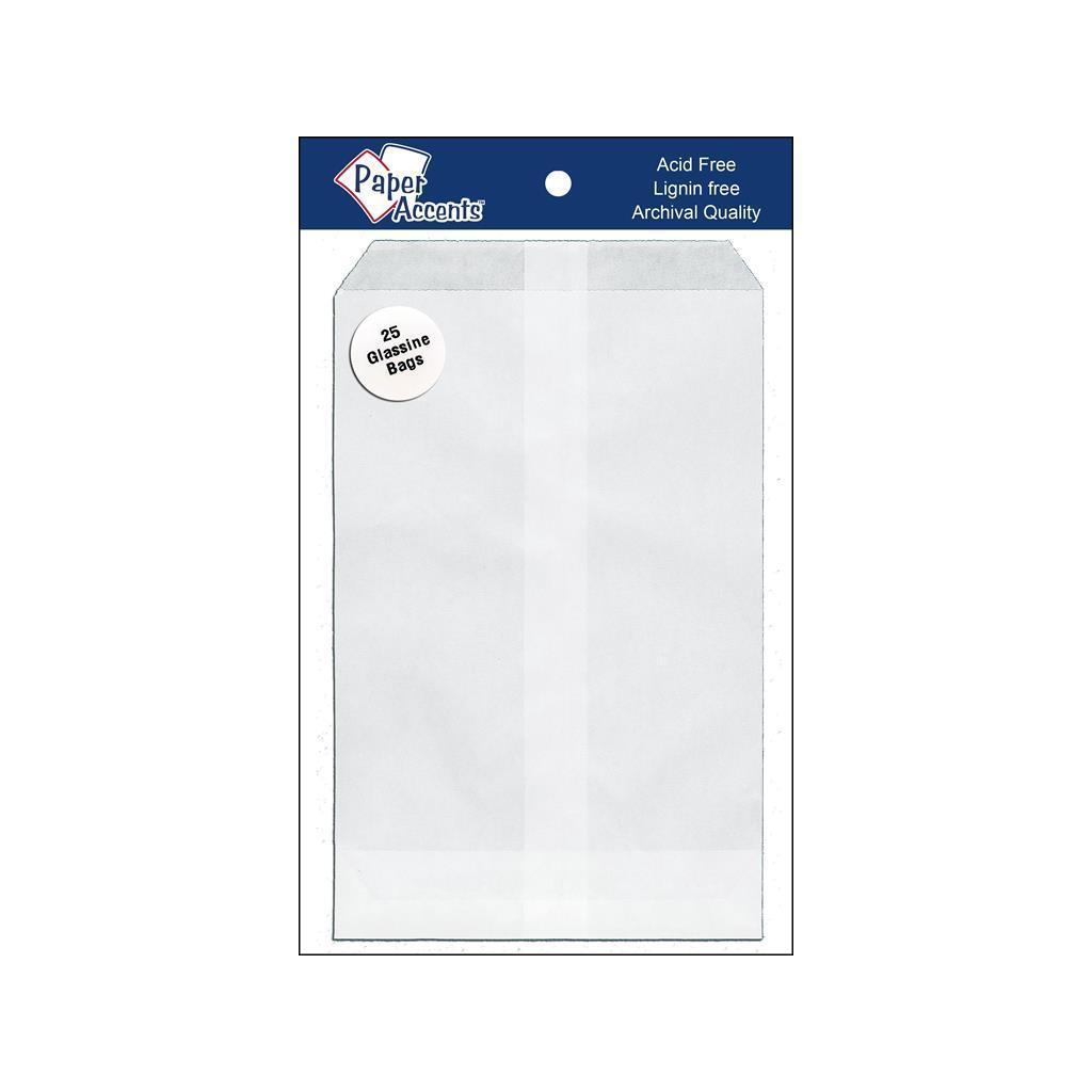 Paper Accents Glassine Bag 4.5x6.75 25pc