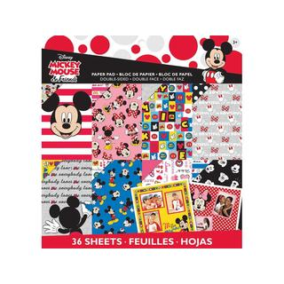 EK Disney Paper Pad 12x12 Mickey Friends