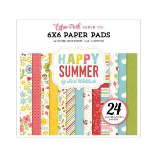 Echo Park Happy Summer Paper Pad 6x6