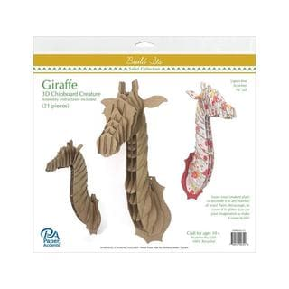 Paper Accents Build-Its 16-inch Chipboard Giraffe