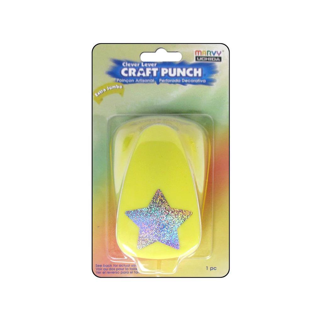 Uchida Lever Punch XJumbo Star (Lever Punch XJumbo Star),...