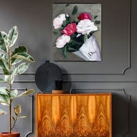 Oliver Gal 'Peony Lover' Canvas Art