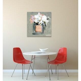 Oliver Gal 'L'Eau de Rose' Canvas Art - White