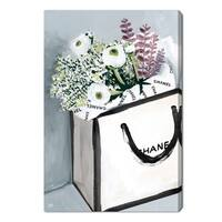 Oliver Gal 'Flower Shopping' Canvas Art