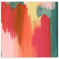 Oliver Gal 'Cuba de Ayer' Canvas Art - Orange